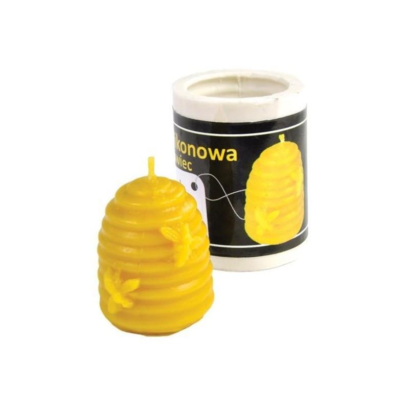moule cire pour bougie ruche paille 2. Black Bedroom Furniture Sets. Home Design Ideas