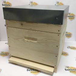 Ruche ECO-1 en bois complète Dadant 12C