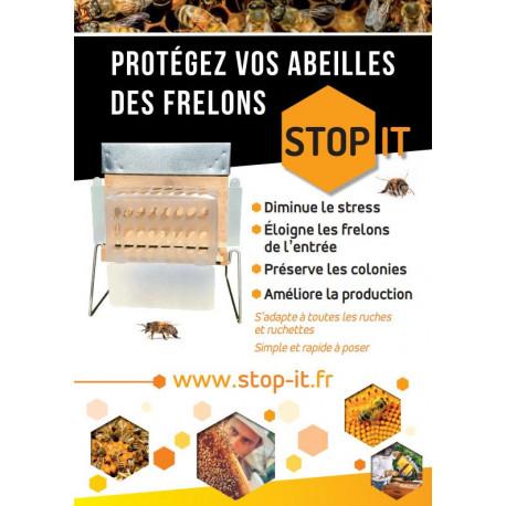 """Muselière """"stop-it"""" contre frelon asiatique"""