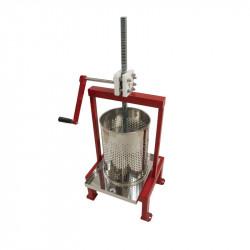 Presse à miel manuelle à manivelle avec coussins anti-vibration