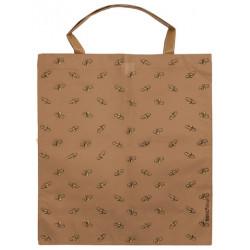 Élégant sac de courses réutilisable et solide avec petites abeilles