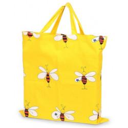 Joli sac de shopping en coton avec motifs abeilles sympas