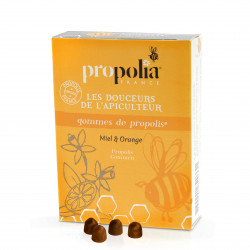 Propolia - Gommes Propolis Miel Orange
