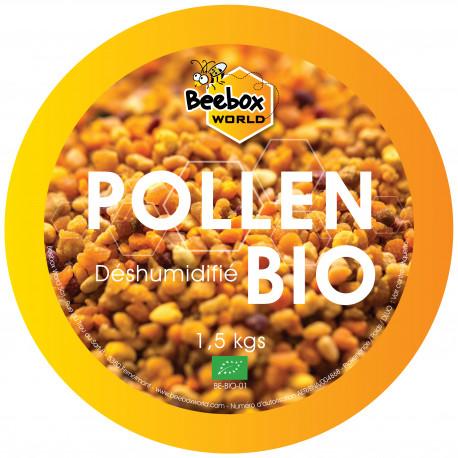 Pollen déshumidifié BIO - Vrac 1,5 kgs