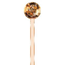 Bande  de garantie ronde  pour pot  - abeilles sur rayon