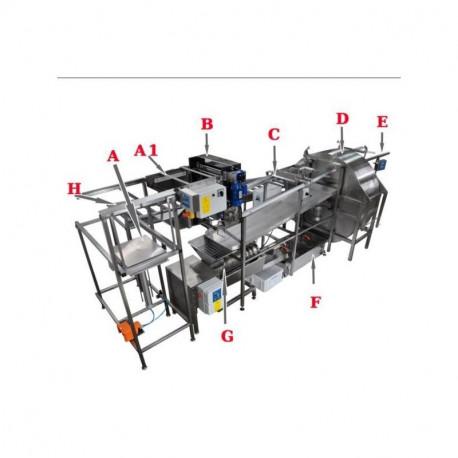 Ligne d'extraction FULL automatique LYSON PREMIUM