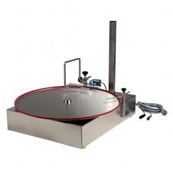 Table ronde pour pompe de remplissage avec détecteur